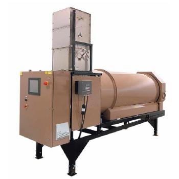 Оборудование для обработки семян Промышленные барабанные системы поточной обработки семян серии RH фото